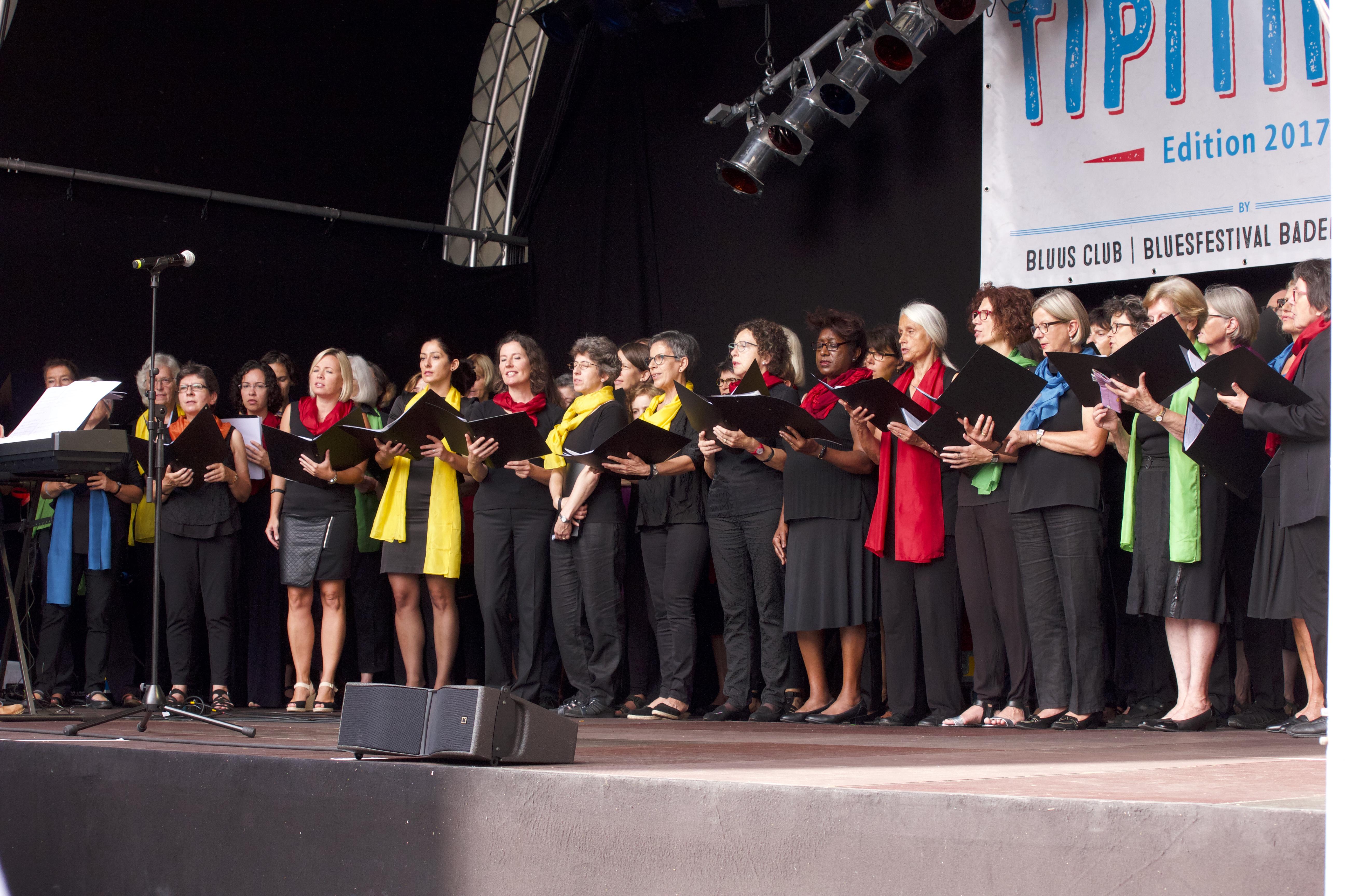 WeltCHOR Baden - auf der Bühne3