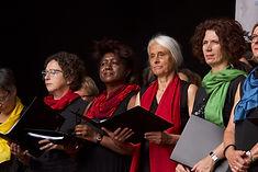 Sängerinnen des WeltCHOR Baden