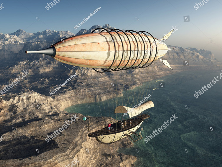 stock-photo-fantasy-airship-over-a-coast