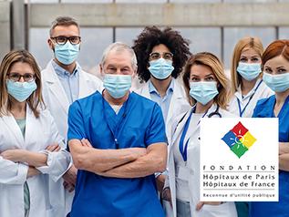 La Fondation Optimind soutient la Fondation des hopitaux de Paris, hopitaux de France