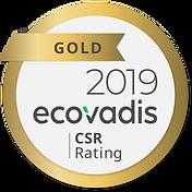 Prevere - Ecovadis 2019 - Gold