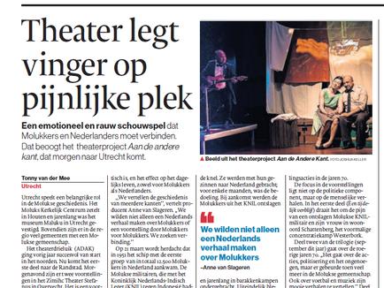 Algemeen Dagblad: reprise-voorstellingen 2019