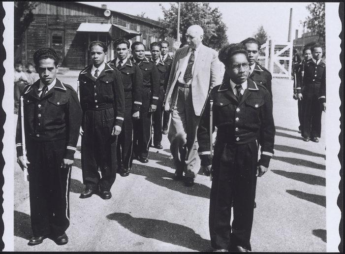 Ex KNIL militairen naar Nederland