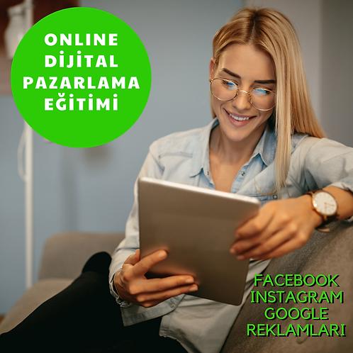 %50 İndirim Online Dijital Pazarlama Eğitimi