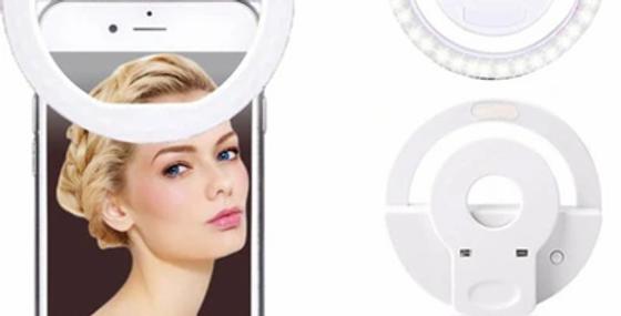 Şarjlı Led Telefon Selfie Işığı