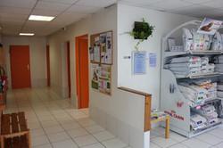 Couloir de distribution des salles