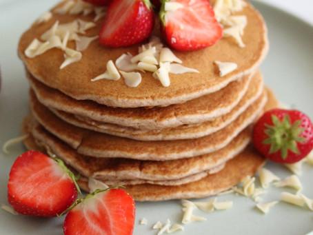 Vegan kaneel pancakes