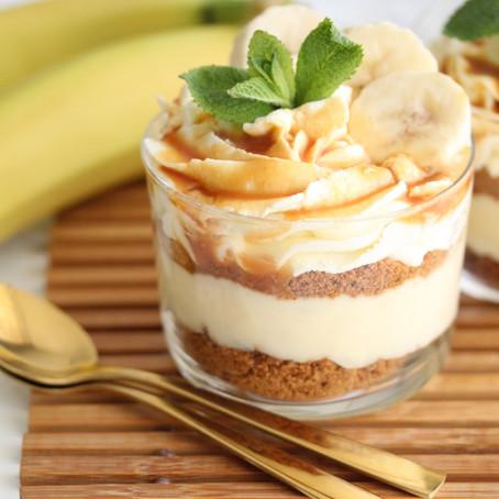 Banoffee pie trifle
