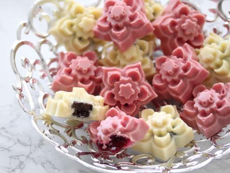 Kersenvlaaifruit bonbons