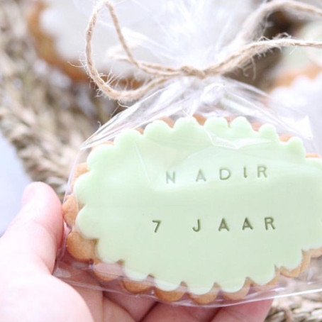 Message on a cookie