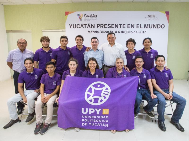 Delegación de movilidad UPY 2017