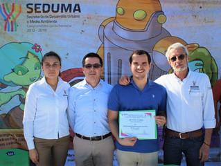 """La UPY, primera institución de educación superior de Yucatán certificada por SEDUMA como """"Escue"""