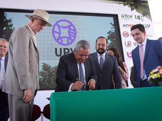 La UPY firma la carta de la tierra