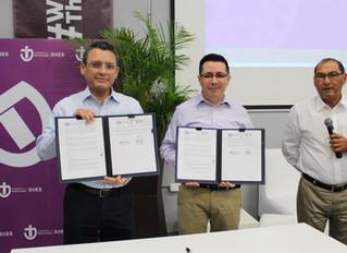 Firman convenio de colaboración la Universidad Politécnica de Yucatán y la Escuela Superior de Artes