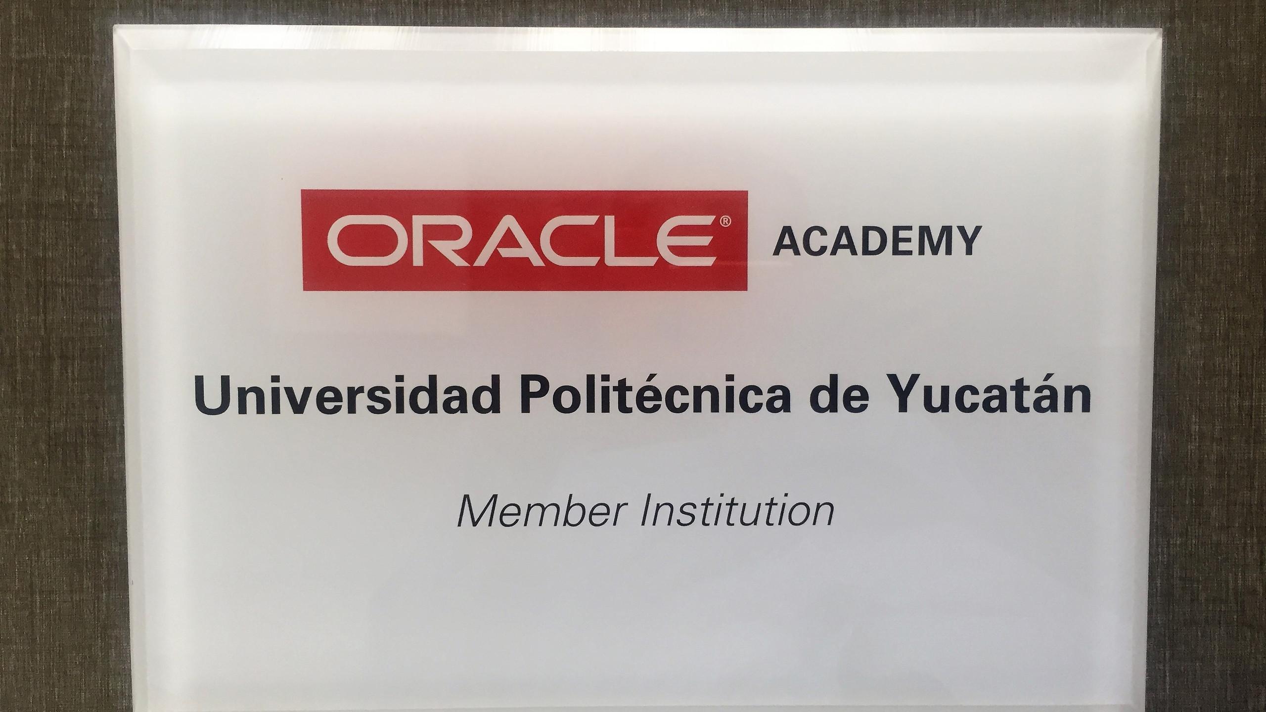 Oracle Academy Member