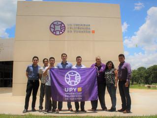 Inicia la UPY presencia en el extranjero