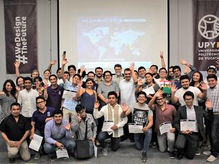 Proyecto de estudiantes de la UPY obtiene tercer lugar en contienda global de innovación