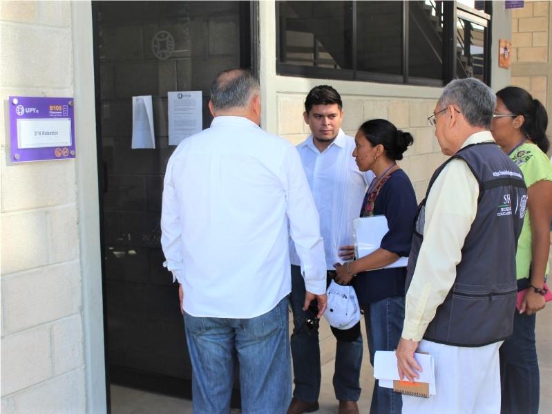 Visita UNESCO a la UPY