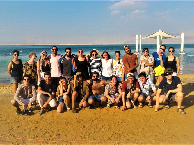 Group day trip to the Dead Sea and to explore Israel!