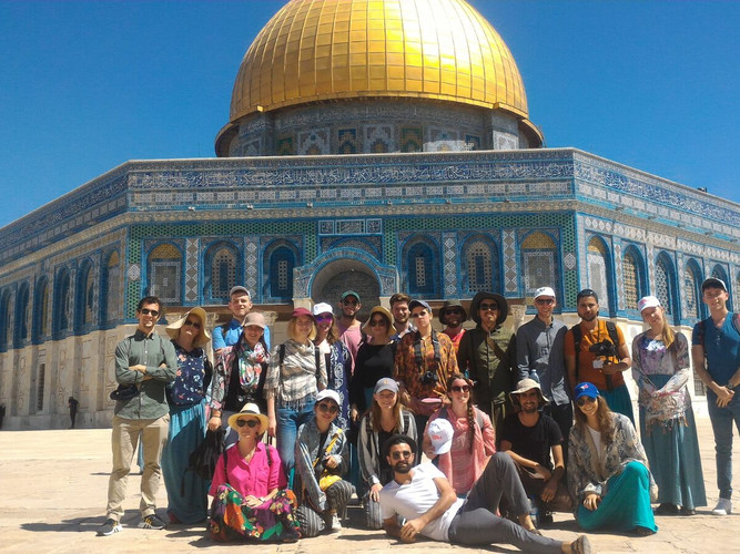 Group day trip to the Temple Mount in Jerusalemalt text here