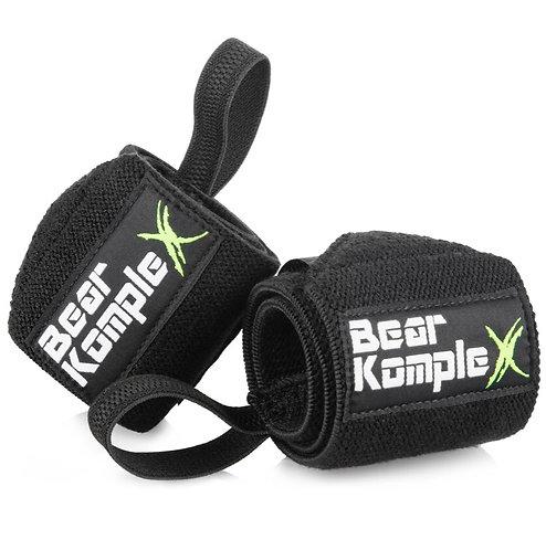 Bear KompleX wrist wraps - Black