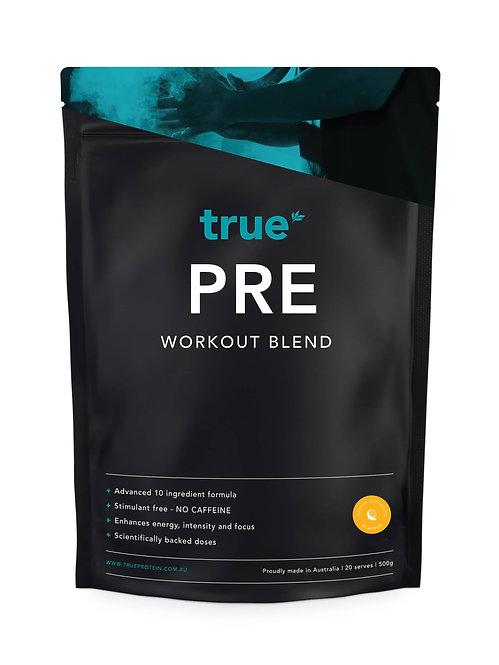 True Pre-Workout Orange Sensation (caffeine free)