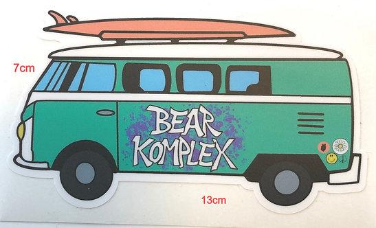Bear KompleX Stickers
