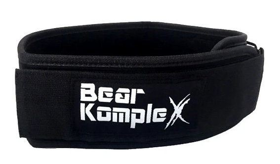 Bear KompleX straight 4' Belt - Black/Grey