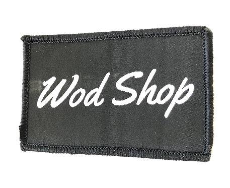 Black Wod Shop Velcro Patch
