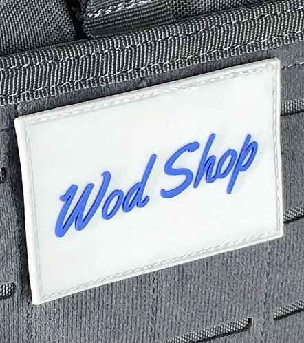 WodShop Rubber Velcro Patch