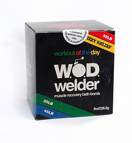 Wod Welder - Natural Muscle Recovery Bath Bomb