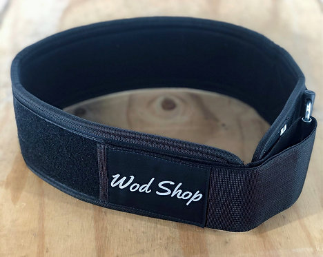 WodShop 4 inch Velcro lifting Belt