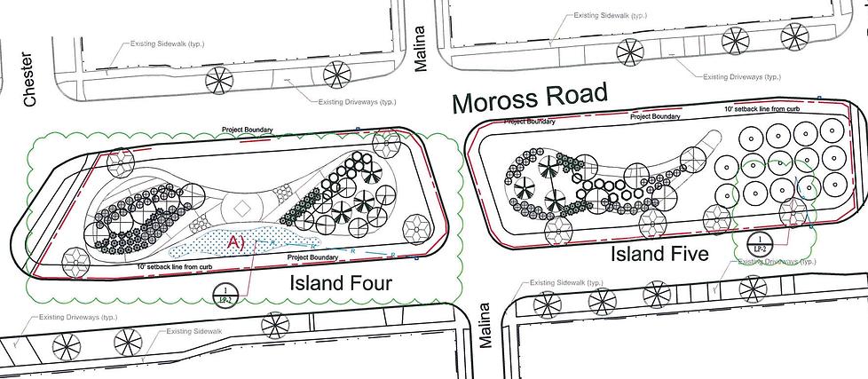 Moross Greenway Project landscape plan s