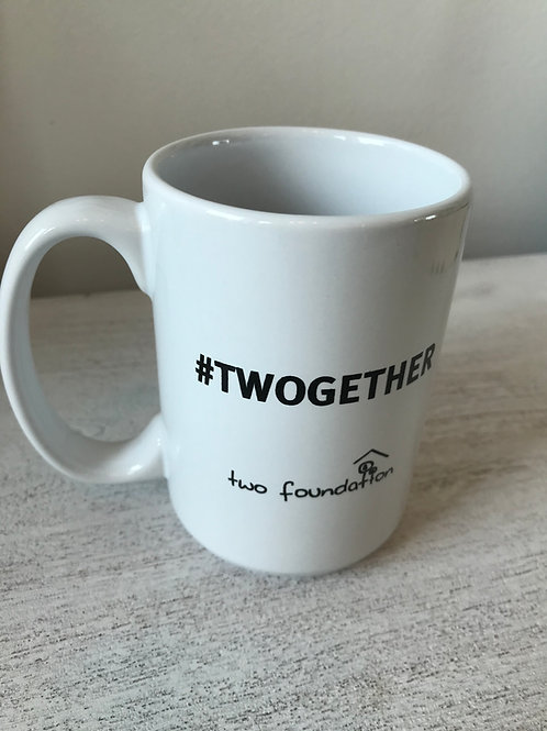 #Twogether Coffee Mug 14oz.