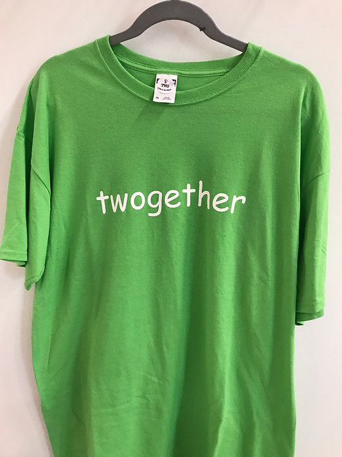 Green Twogether Short Sleeve Tee