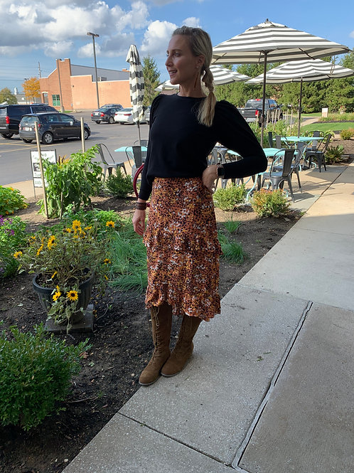 Fall Flutter Skirt