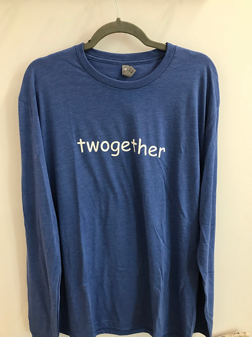 Blue Twogether Long Sleeve Tee