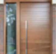 Engineer Decorative Solid Wood Door