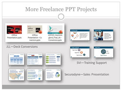 Freelance PPT Projects