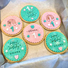 Deluxe Personalised Biscuits
