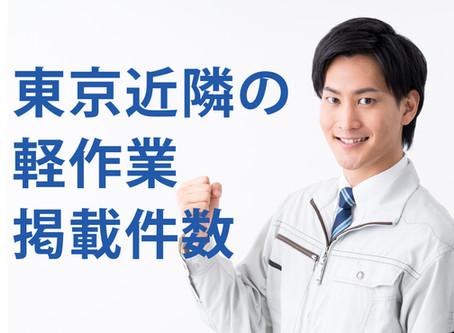 【2020年4月~8月】軽作業の求人数調査まとめ(神奈川・埼玉・千葉)