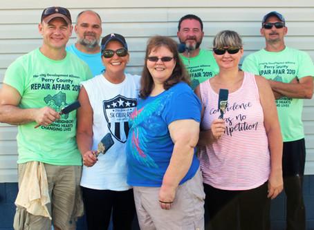 HDA Volunteers Brave the Heat in Annual Repair Affair