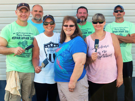 HDA Volunteers Brave the Heat in Annual Repair Affair
