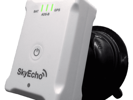 uAvionix SkyEcho 2 Electronic Conspicuity Devices Cleared for Unrestricted Transmission in the UK