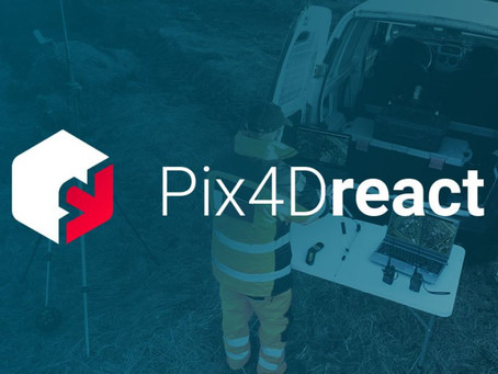 Introducing Pix4Dreact, Fast Mapping for Emergency Response