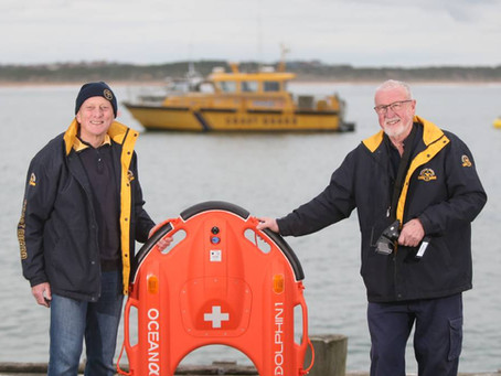 Warrnambool Coast Guard Introduces the First Dolphin 1 Lifebuoy