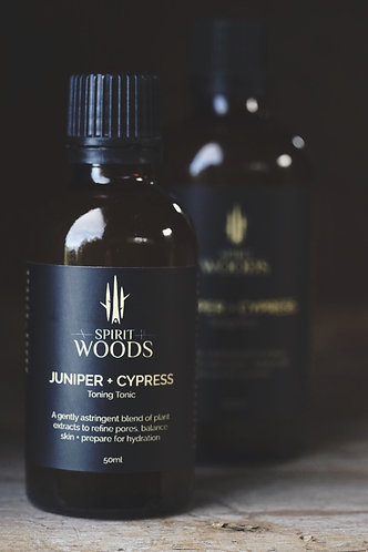 TONE . Juniper + Cypress Toning Tonic
