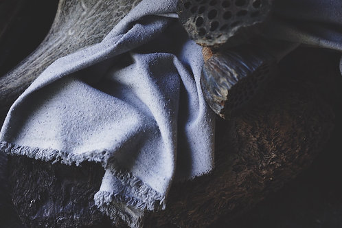 Tarot Cloth . Botanical dye . Water/Cups