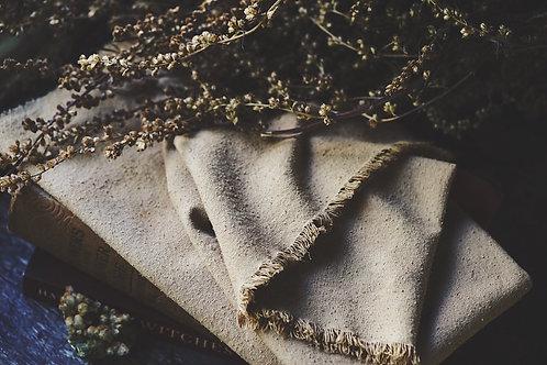 Tarot Cloth . Botanical dye . Fire/Wands