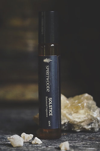 Solstice | Sacred Resins . Charred Spice . Amber